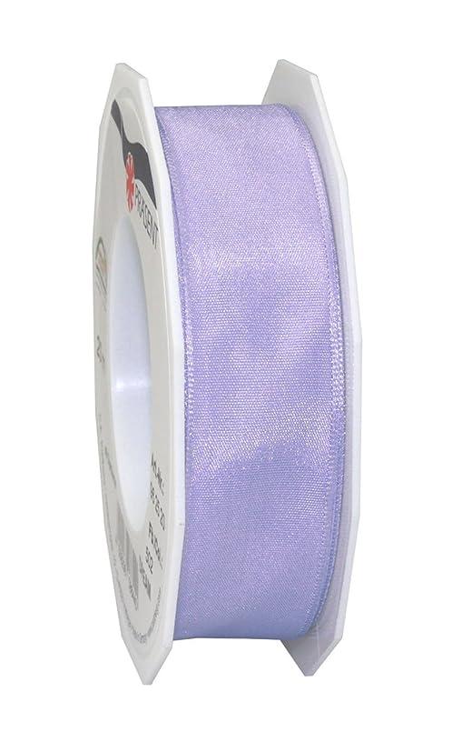 Prasent 25 mm Wired Dream Ribbon, Pastel Blue