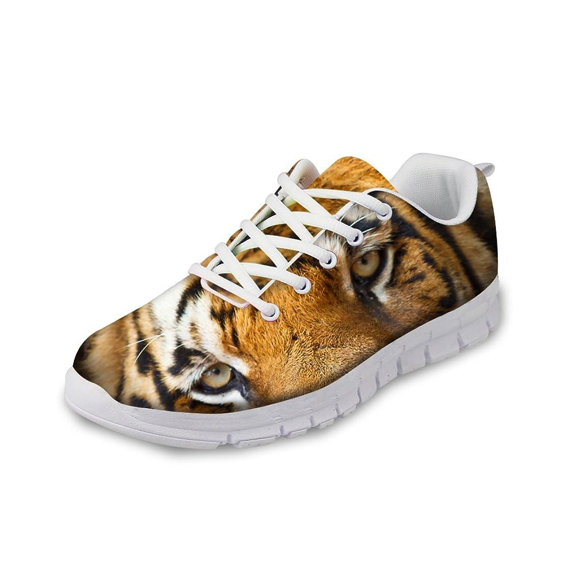 地震礼儀特権ThiKin スポーツシューズ メンズ レディース かわいい 動物柄 シューズ 軽量 トラベルランニングシューズ 個性的 クッション性 カジュアル デイリー 3Dプリント 靴 日常着用 通気 おしゃれ ファッション 通勤 通学 プレゼント