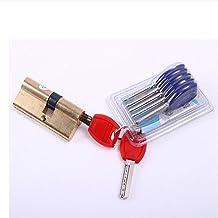 Slotcilinder 65-10 5 MM Deurcilinder Hardware Offset Lock Cilinder AB Sleutel Anti-Diefstal Entree Brass deurvergrendeling...