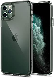 spigen iPhone 11 Pro Case,High Protection Hard back flexible Frame, Transparent