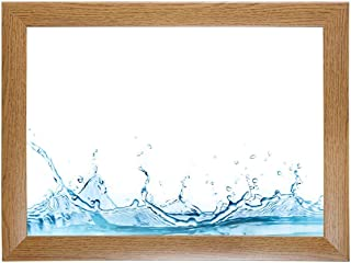 Nira35 Top Bilderrahmen Eiche rustikal Acrylglas entspiegelt