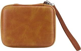 Guitar Pick Holder Zipper Leer Pick Storage Bag Waterproof Portable Guitar Plectrum Case