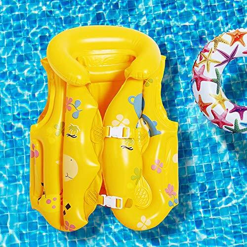 DODOBD Colchoneta Hinchable Piscina, Verano bebé Seguridad Montar natación flotabilidad Chaleco Juguete balsa de Piscina para niños Flotante (S/M/L Compre uno y llévese Otro Gratis)