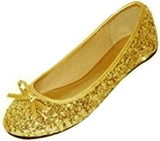 Shoes 18 New Womens Sequins Ballerina Ballet Flats Shoes 5 Colors Available