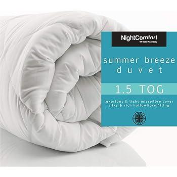 Cool Summer Weight Microfibre Duvet
