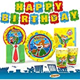 EVERYTHING YOU NEED: Geronimo Stilton Party Supplies?! How about a Dragon Quest party? We have everything you need all packed together in one convenient package! Create an epic fantasy birthday party with our unique kids birthday decorations, packed ...