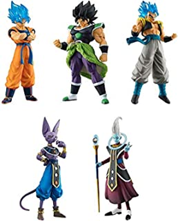 Gashapon Dragon Ball Super: Broly 02 HG Series Set