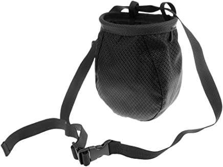 2pcs Climbers Outdoor Climbing Chalk Bag with Adjustable Belt /& Brush Slot