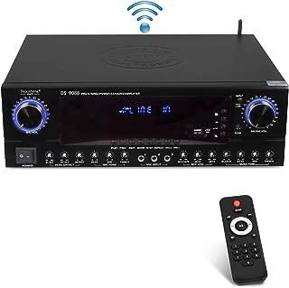 Depusheng Hybrid Amplifier Receiver - Home Theater Amp Stereo, Bluetooth Streaming, MP3/USB/SD Readers, FM Radio, 560 Watt