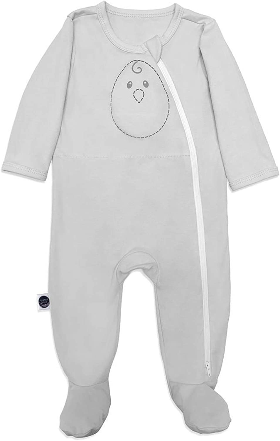 Nested Mail order cheap Bean Zen Footie PJs Weighted Baby: Gently - Phoenix Mall 3-9