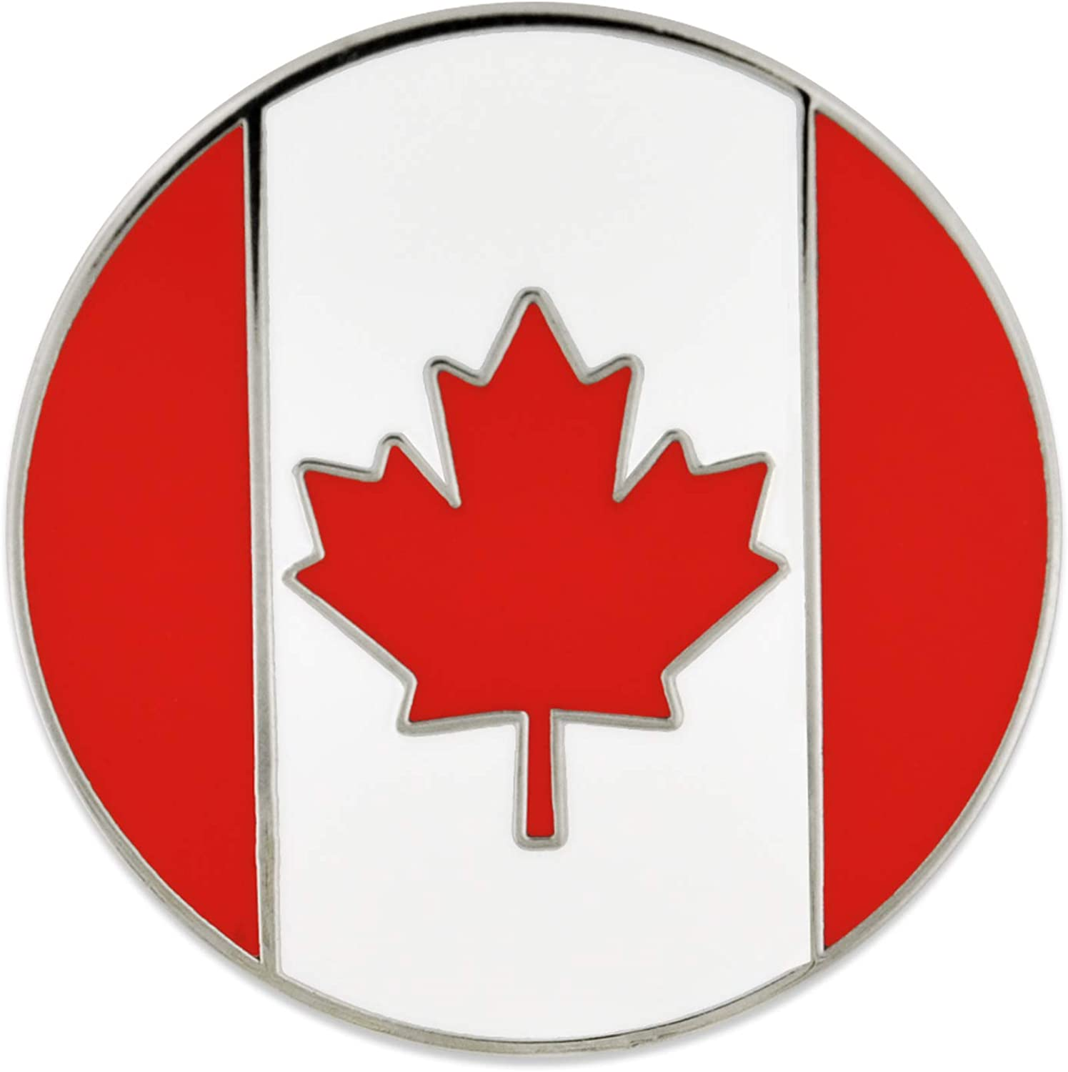 Baltimore Mall PinMart Challenge the lowest price of Japan Canada Day Maple Leaf Canadian Enamel Flag Lapel Pin