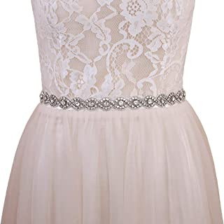 Azaleas Women's Wedding Belt Sashes Bridal Sash Belts for Wedding Dress