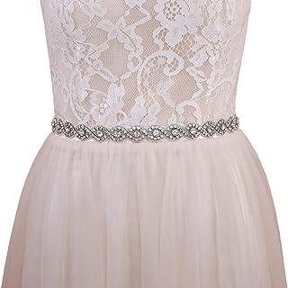 Azaleas Women's Wedding Belt Sashes Bridal Sash Belts for Wedding Dress