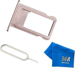 MMOBIEL Bandeja de Tarjeta SIM Ranura Compatible con iPhone 6S Plus 5.5 Inch (Oro Rosa) Incl sim Pin