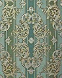 Barock-Tapete EDEM 580-35 Hochwertige geprägte Tapete in Textiloptik und Metallic Effekt...