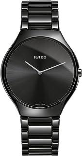 Rado True Thinline Black Ceramic Men's Watch R27741182