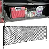 """Auto Trunk Organizer[34""""x14""""] - Trunk Cargo Net - Envelope Truck Tailgate net, Car Storage Container for Vehicle SUV for Gift"""