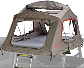 Yakima SkyRise HD Tent: 4-Person 4-Season Tan/Red, One Size