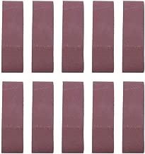 120# 10 piezas de lijado abrasivo Cintur/ón de pulido circular 1220x50 mm Papel de lijado abrasivo de /óxido de aluminio GXK51-B para trabajos de lijado