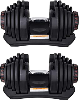 Adjustable Dumbbells Set (2 x 40 KG) 80Kg Total