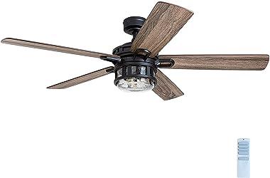 Honeywell Ceiling Fans 50690-01 Bonterra, 52 inches, Matte Black