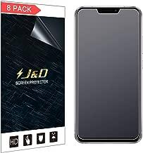 J&DCompatiblefor8-PackZenFone5ZScreenProtector,[Anti-Glare][NotFullCoverage]MatteFilmShieldScreenProtectorforASUSZenFone5ZMatteScreenProtector-[NOTforZenFone5Lite/5]