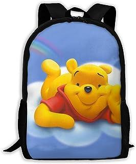 Custom Flying Winnie Pooh Casual Backpack School Bag Travel Daypack Gift