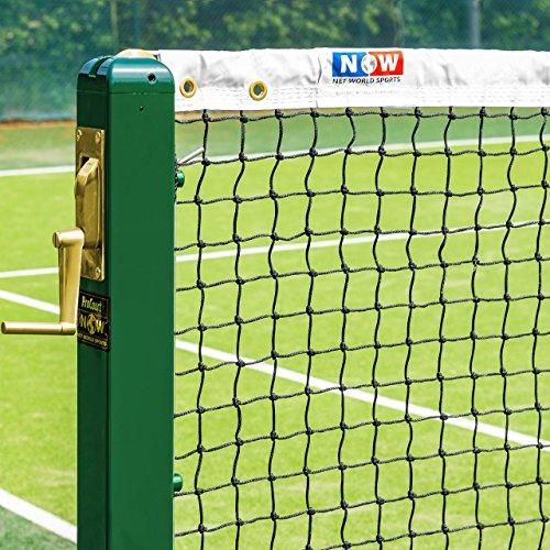 Vermont Red de Tenis de Calidad Profesional – 12,8m para Dobles (Gama de Opciones) (3mm)