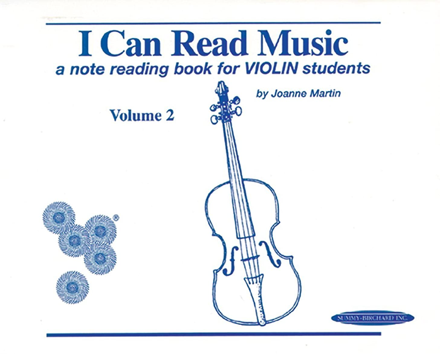 I Can Read Music, Vol 2 a Note Reading Book for Violin Students by Joanne Martin (1-May-1997) Spiral-bound