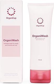 comprar comparacion OrganiWash (75ml) - Limpiador suave para el cuerpo y la copa menstrual - Jabón íntimo orgánico - Sin perfume - Vegano cert...