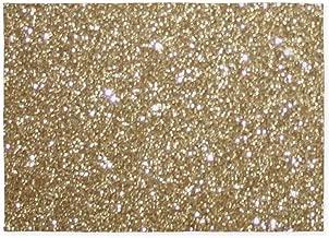 CafePress Girly Glam Gold Glitters Decorative Area Rug, 5'x7' Throw Rug