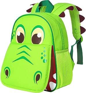 """Toddler Backpack, 12"""" Dinosaur Prechool Bag for Boys Girls"""