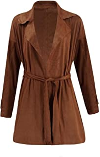 Best zara khaki suede trench coat Reviews