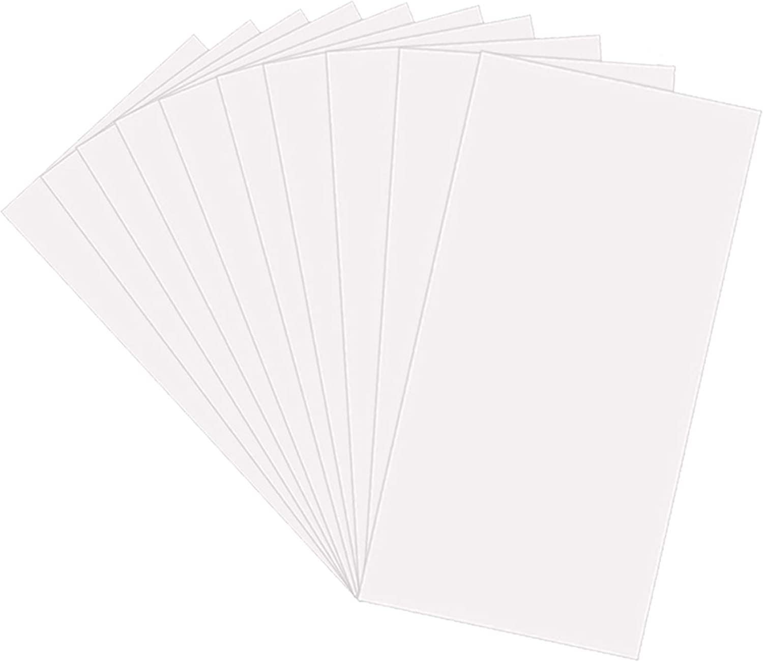 Make Your Own Stencil Compatible Vinyl Cutting Machine 25 Pack 4 Mil CLEAR Mylar Stencil Sheets 12 x 24 Blank Stencils Reusable Template Material