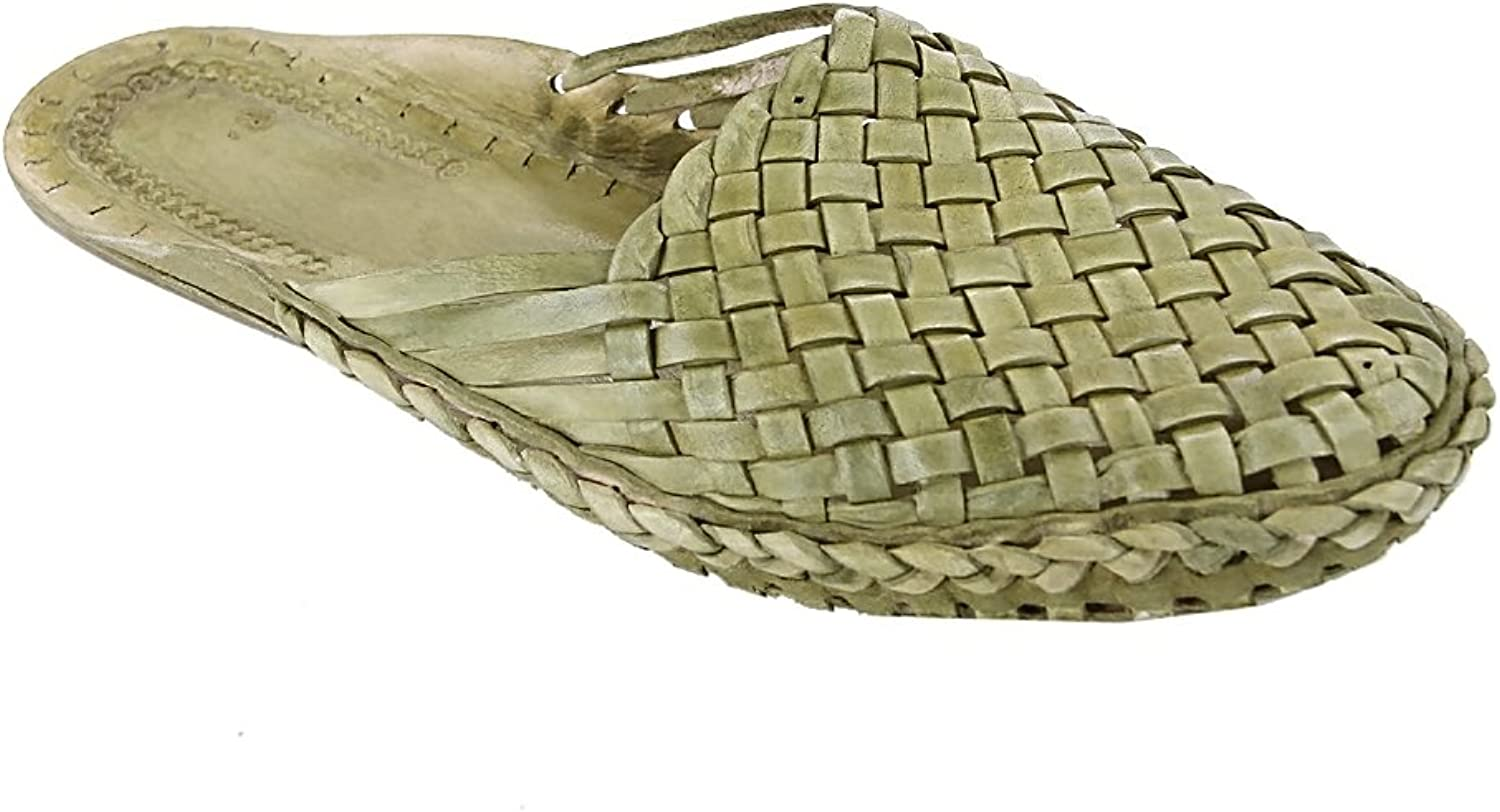 KOLHAPURI CHAPPAL Original Elegant Seaweed Half shoes For Men Slipper Sandal