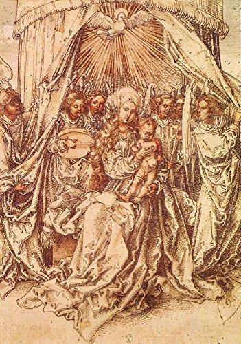 Het Museum Outlet - Madonna met engelen onder een luifel van Durer - Canvas Print Online Kopen (60 X 80 Inch)
