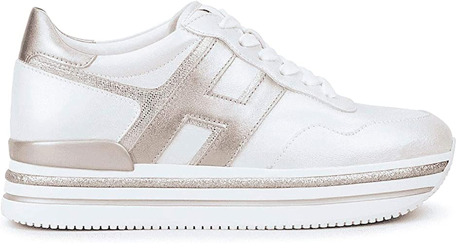 Hogan Sneakers MIDI H222, Womens, Size: 38. White: Amazon.co.uk ...