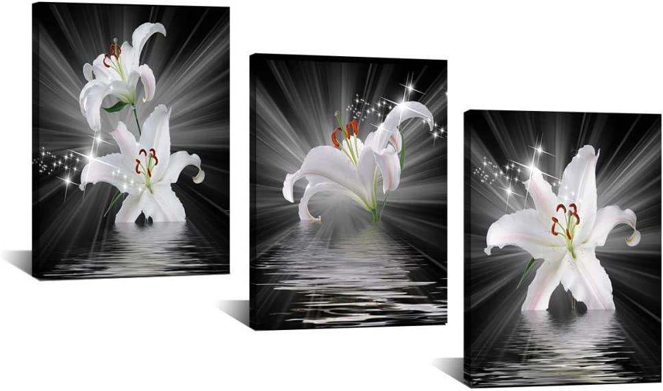 Xykshiyy Lily Wall Art Arlington Mall Print Limited time sale Painting Nordic Canvas Posters and