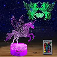 Pehohe 16 Colors Dimmable Unicorn LED Night Lights