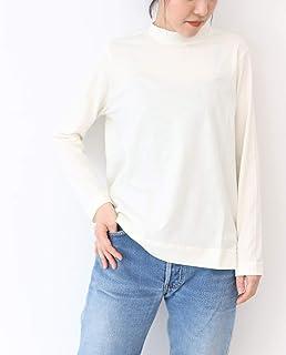 (アルモニ オーガニックコットン) harmonie -Organic Cotton- ふんわり天竺 ハイネック ロングTシャツ 182-000651