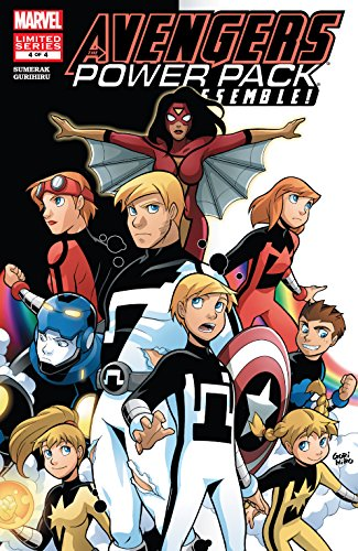 Avengers and Power Pack Assemble! (2006) #4 (English Edition ...