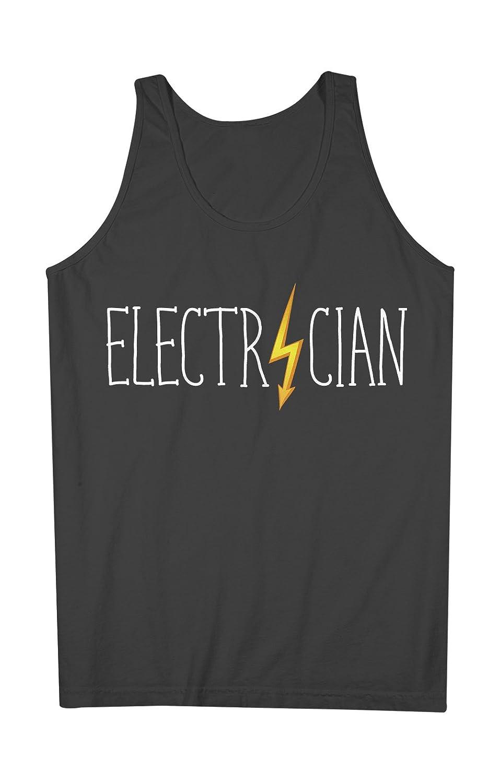 Electrician おかしいです Job Title Occupation 男性用 Tank Top Sleeveless Shirt
