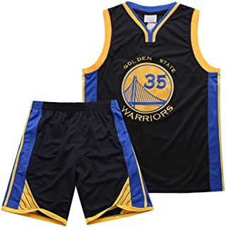 Golden State Warrior Kevin Wayne Durant 35 Jersey Summer Suit Black - Classic Sleeveless Suit, Men's and Unisex Basketball Sportswear T-Shirt Stitching Letters TFTREE