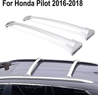 ALAVENTE Roof Rack Crossbars for Honda Pilot 2016 2017 2018 (with Factory roof Side Rails)