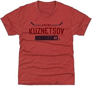 500 LEVEL Evgeny Kuznetsov Washington Hockey Kids Shirt - Evgeny Kuznetsov Athletic