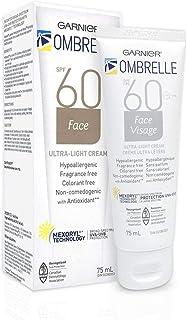 Garnier Ombrelle Face Sunscreen cream SPF 60, 75ML