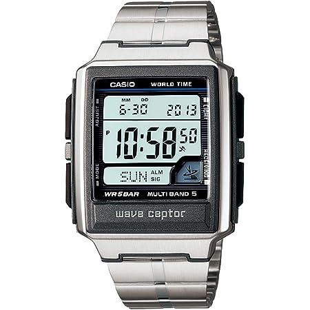 [カシオ] 腕時計 ウェーブセプター 電波時計 WV-59DJ-1AJF メンズ シルバー