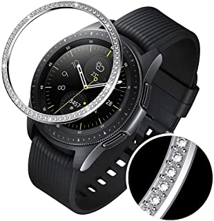 FOONEE Bezel Ring Compatible with Samsung Gear S3/Galaxy Watch Smart Watch Bezel Adhesive Cover Anti Scratch & Collision Protector with Cleaner Kit for Galaxy Watch Accessories 42mm