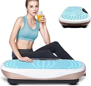 High quality Vibration Plate Trainer,Vibration Platform Machines Vibrating Tablet Deep Tissue Vibration 8 Modes for Fitnes...