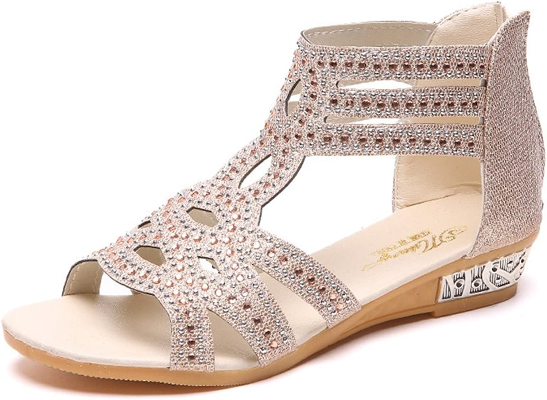 MODEOK Hi-top Canvas shoes Women's Wild Lace Sneakers Flat shoes Velcro